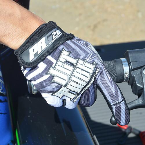 Gloves GP-20 Black / Grey PWC Jetski Ride & Race Jet Ski Gear