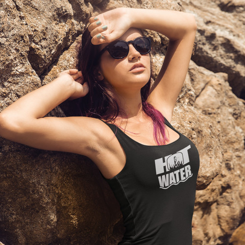 """Exclusive """"Hot Water: The Movie"""" Ladies Tank Top 