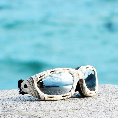 Classic Slate Frame/Smoke Lens Goggles PWC Eyewear