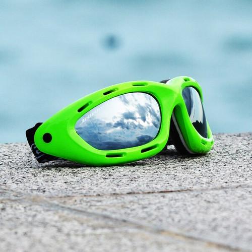 Classic Green Neon Frame/Smoke Lens Goggles PWC