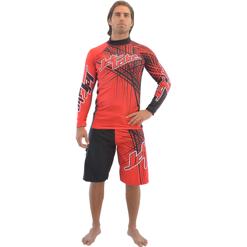 Rashguard Spike - Red (Size Medium Only - Clearance)