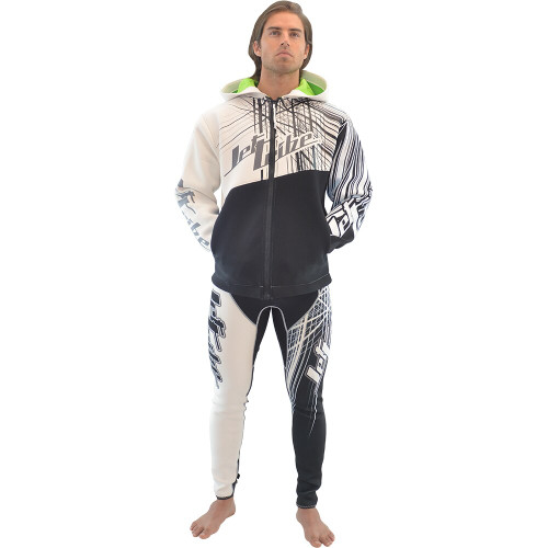 Tour Coat Spike - White / Black PWC Jetski Ride & Race Gear