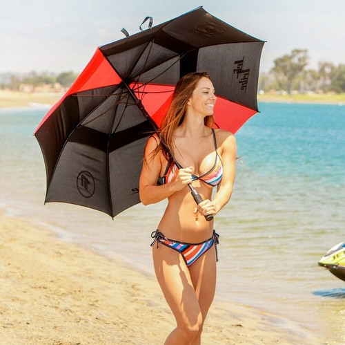 New! Umbrella PWC Jetski Sun & Rain Protection Beach
