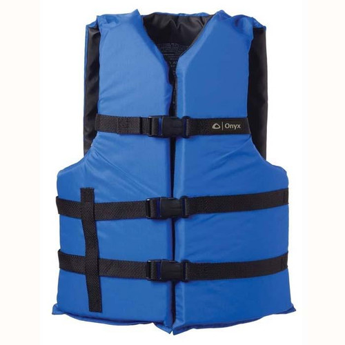 Onyx General Purpose Life Vest Adult Oversize Blue