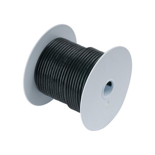 Ancor #4 Black 25' Spool Tinned Cooper