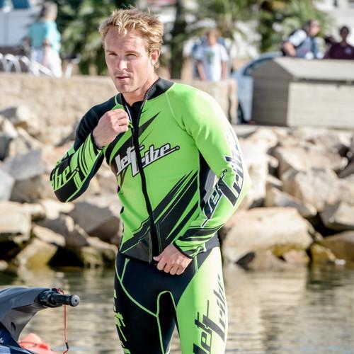 Sharpened Green Wetsuit | PWC Jet Ski Ride & Race