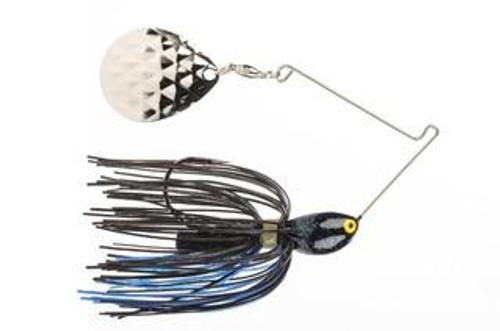 Strike King Midnight Special Rattlin 7/16oz Black/Blue-Nickle Blade