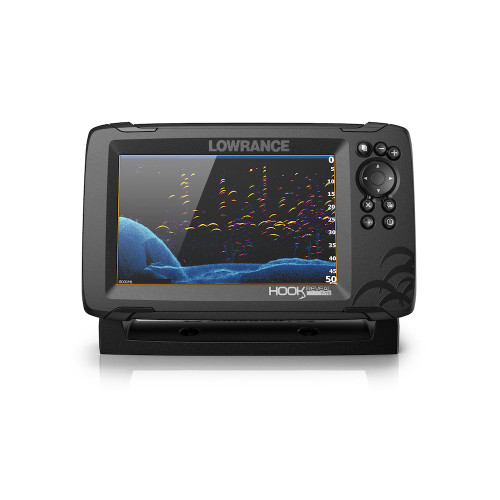 Lowrance Hook Reveal 7x Tripleshot Gps Only No Chart