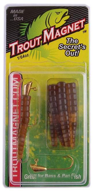 Leland Trout Magnet 1/64oz 9ct Brown