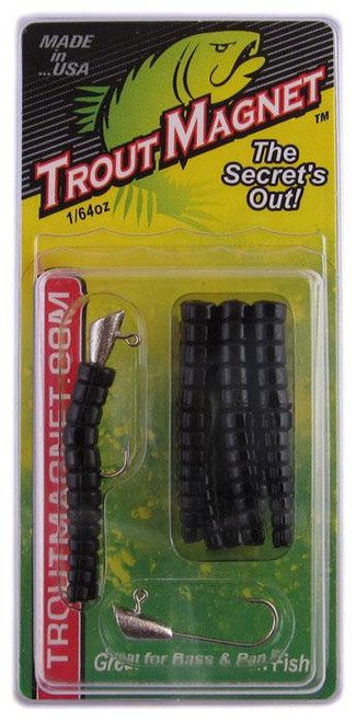 Leland Trout Magnet 1/64oz 9ct Black
