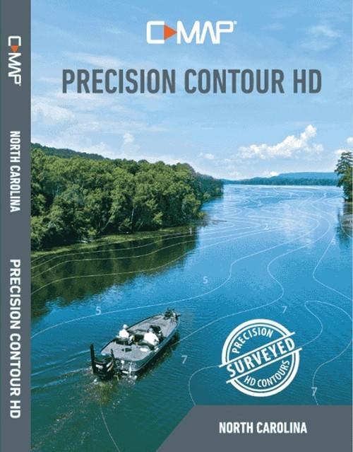 C-map Precision Contour Hd North Carolina For Navico