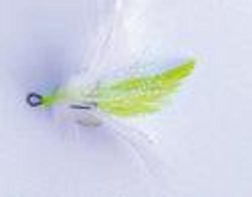 Mustad Dressed Treble Hooks 2ct White/Chart Size 6