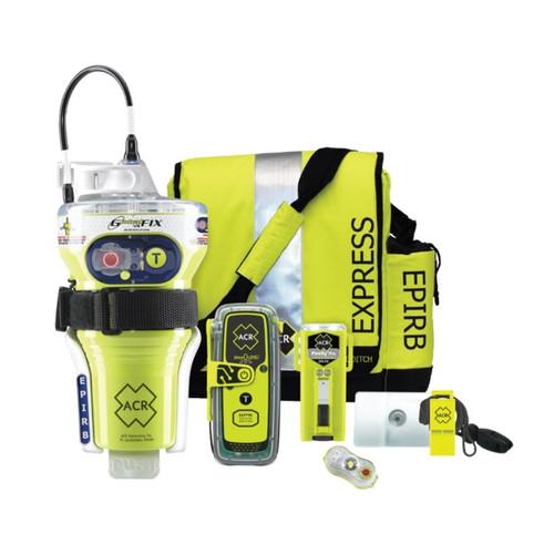 Acr 2349 Globalfix V4 Cat2 Epirb & Resqlink 400 Plb Survival Kit