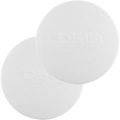 "DS18 Silicone Marine Speaker Cover f/8"" Speakers - White"