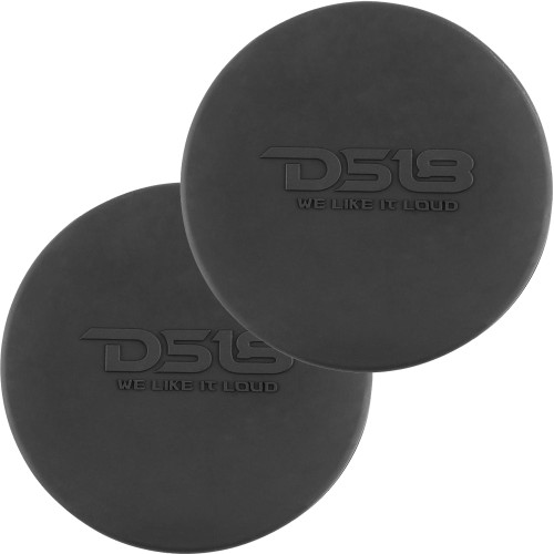 "DS18 Silicone Marine Speaker Cover f/8"" Speakers - Black"