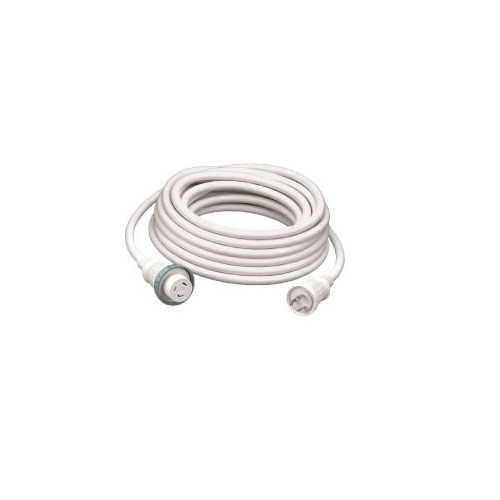 Hubbell Hbl61cm03w 30a 25 Foot White Shore Cord