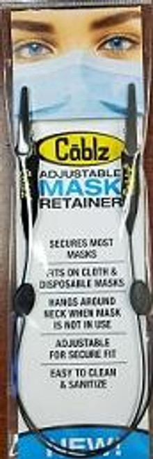 Cablz Mask Retainer Black/Adjustable