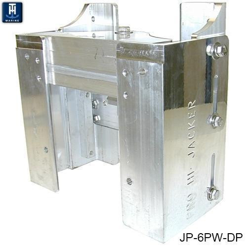 """Th Marine Hi-jacker 6"""""""" 3/8"""""""" Thick Jack Plate For Up To 175hp Outboard"""