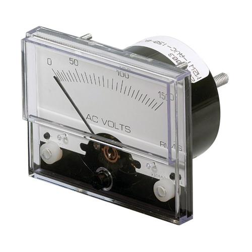 "Paneltronics AC Voltmeter 1-1/2"" 0-300 VAC Analog"