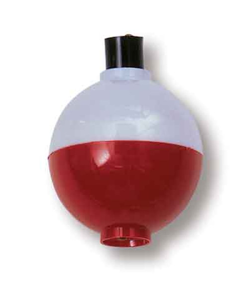 """Betts Snap-On Floats Red/White 1.50"""" 50ct"""