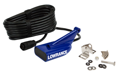 Lowrance 83/200/455/800khz Hdi Transom Mount Transducer 9-pin