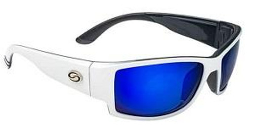 Strike King SK Plus Ouachita White/Black-Blue Mirror