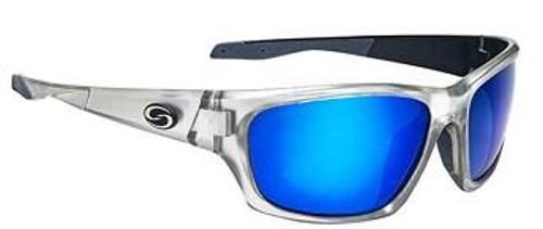 Strike King SK Plus Cypress Clear Silver/Black-Blue Mirror