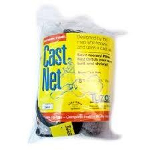 "Betts Cast Net Mono 3/8"" 31/2' Radius"