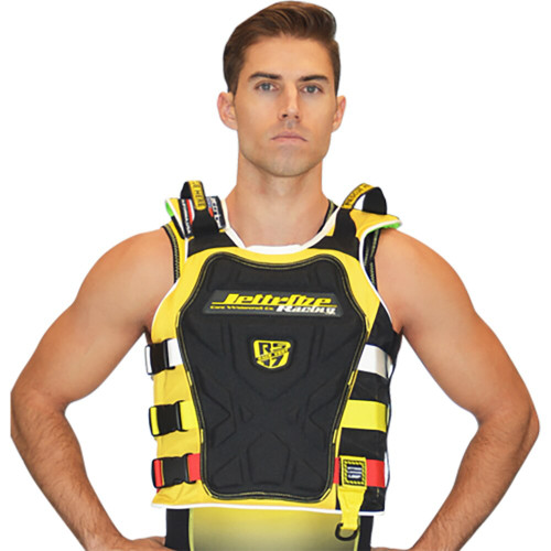 RS-17.2 Side Entry Race Vest Yellow PWC Jetski Race Jacket