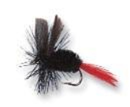Betts Dry Fly 2ct Size 10 Black Gnat