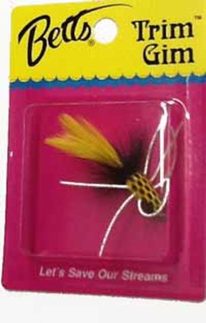 Betts Trim Gim Yellow/Black Size 8