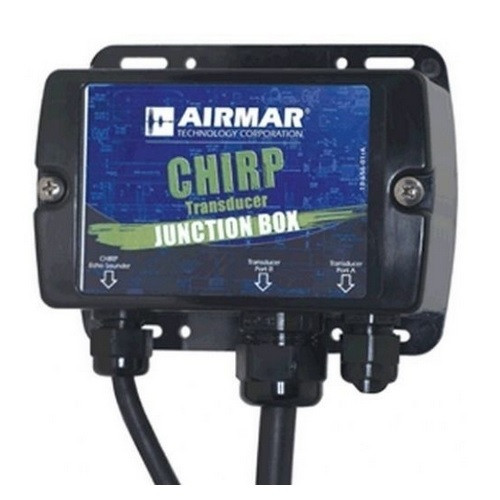 Airmar Chirp Junction Box For Barewire Chirp Transducers Cp570 Cp470 Rvx Models  11-pin