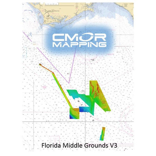 Cmor Mapping Mdgr003r Middle Grounds Raymarine