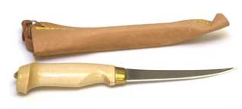 "Eagle Claw Tool Filet Knife 6"" w/Wood Handle"