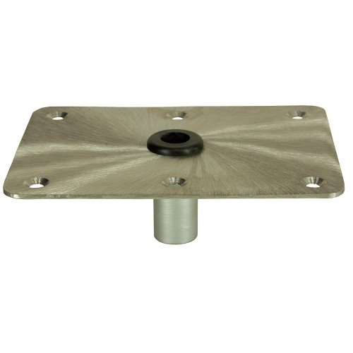 "Springfield KingPin 6"" x 8"" - Stainless Steel - Rectangular Base"