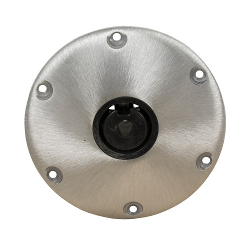 "Springfield Plug-In 9"" Round Hi-Lo Base f/2-3/8"" Post"