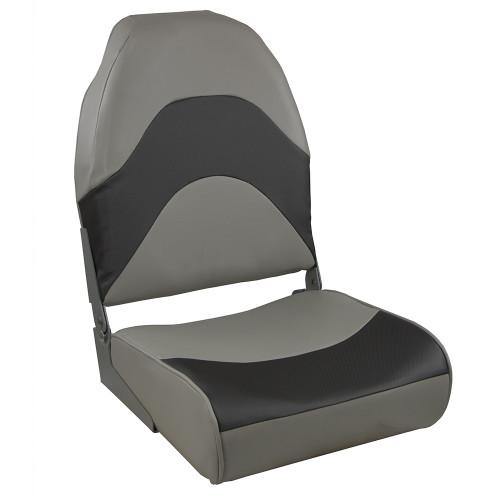 Springfield Premium Wave Folding Seat - Grey w/Meteor Stripe