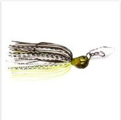 CHATTERBAIT JACKHAMMER STEALTHBLADE 3/8 OZ BHITE DELIGHT