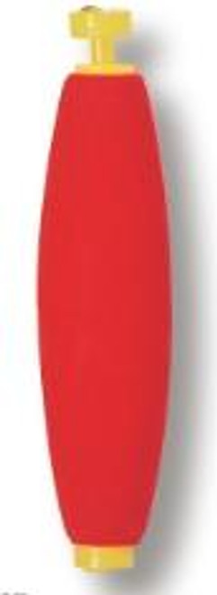 """Betts Foam Float Unweighted Cigar 2.00"""" 50ct Red/White"""