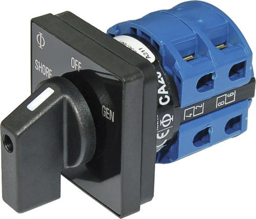 Blue Sea Rotary Switch 120vac 30 Amp Off + 2 Position