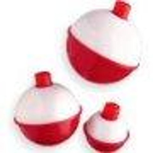 """Betts Snap-On Floats 3ct 1.00"""" Red/White"""