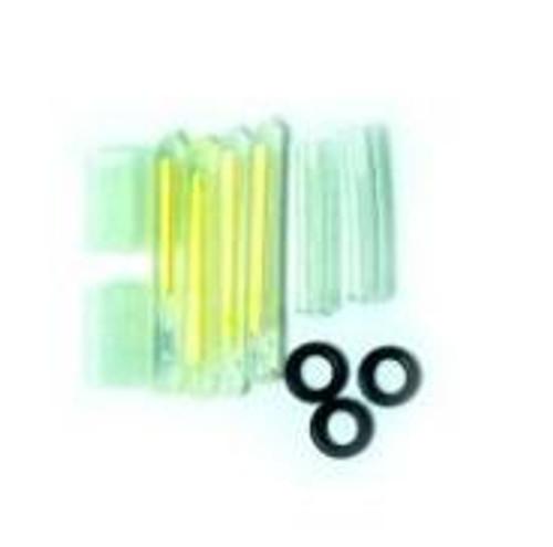 Eagle Claw Light Sticks Glow Green 8ct
