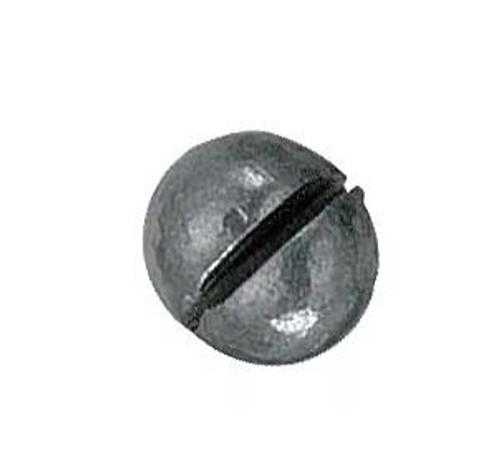 Bullet Weight Split Shot Round Zip Lock Size 3/0 40ct