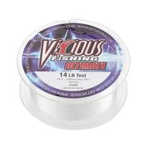 Vicious Ultimate Clear Mono 330yd 30lb