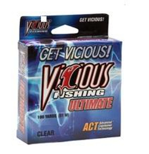 Vicious Ultimate Clear Mono 100yd 6lb