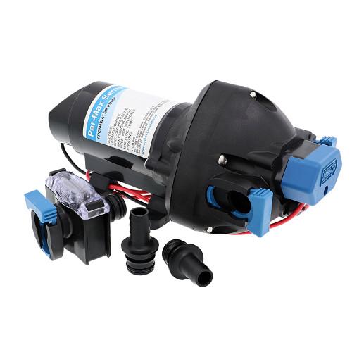 Jabsco Par-Max 3 Water Pressure Pump - 12V - 3 GPM - 25 PSI