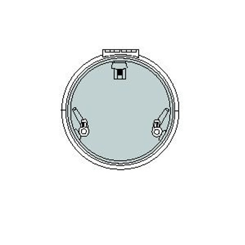 Lewmar Size 22 Low Profile Hatch Flange Base