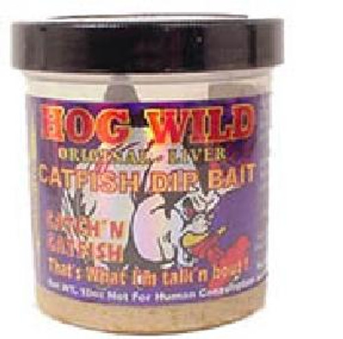 Magic Bait Hog Wild Dip Bait Blood 10oz Jar