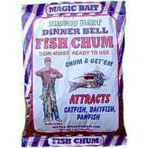 Magic Bait Dinner Bell Fish Chum 2lb Bag