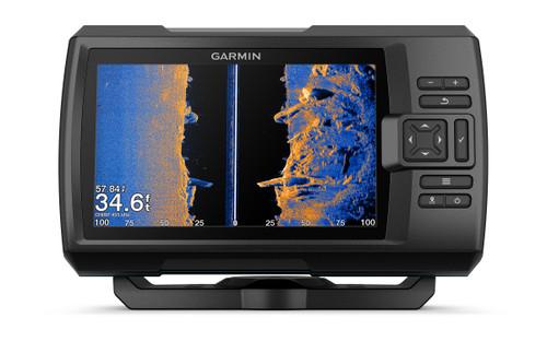 "Garmin Striker Vivid 7sv 7"""" Fishfinder Gps Track Plotter With Gt52"